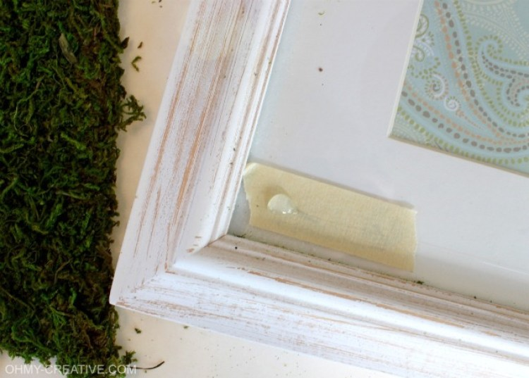 How to glue moss mat | OHMY-CREATIVE.COM
