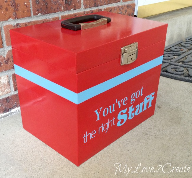 Metal Box Makeover - Oh My Creative
