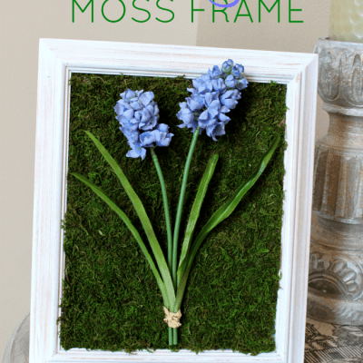 Spring Moss Craft Decor