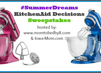 KITCHENAID ARTISAN DESIGN COLLECTION STAND MIXER GIVEAWAY