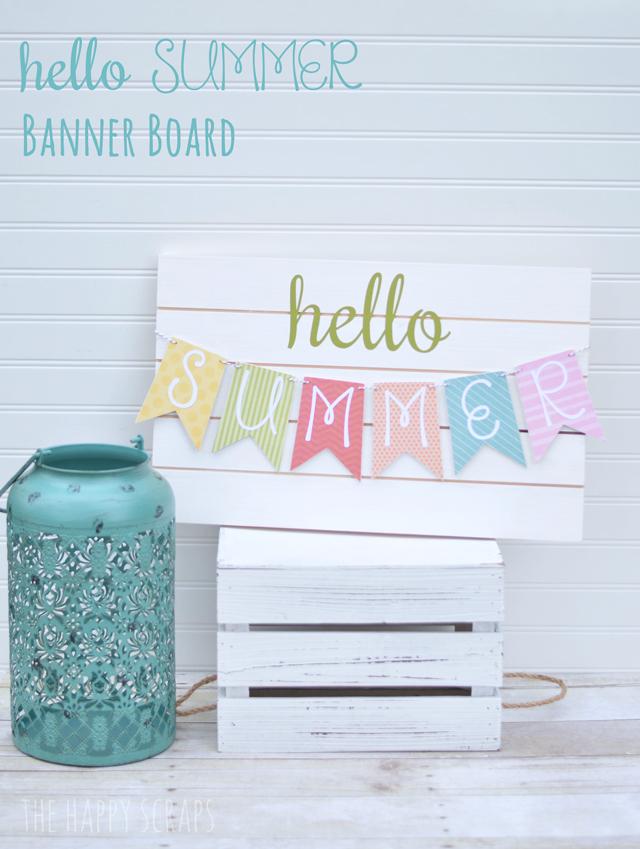 hello-summer-banner-board