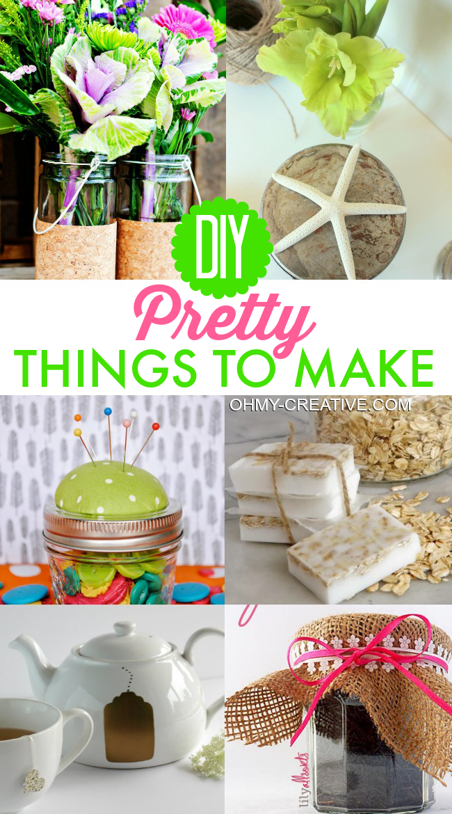 DIY Pretty Things To Make | OHMY-CREATIVE.COM