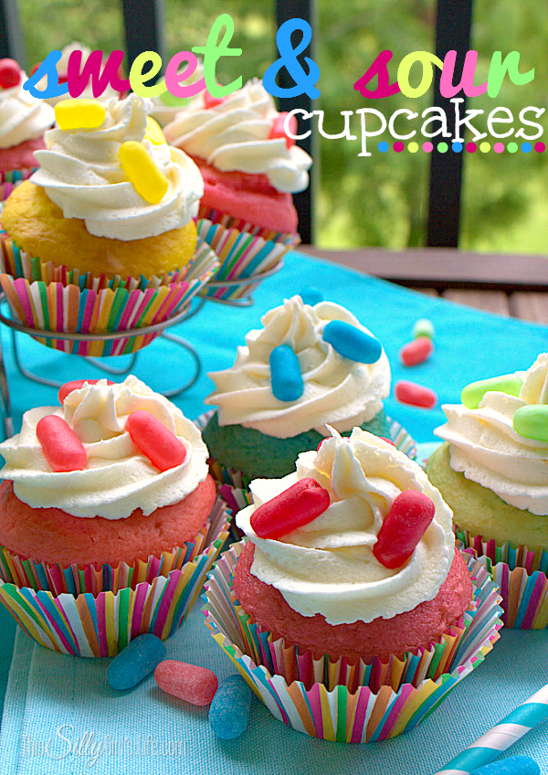Sweet and Sour Cupcakes