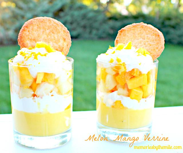 Melon-Mango-Verrine