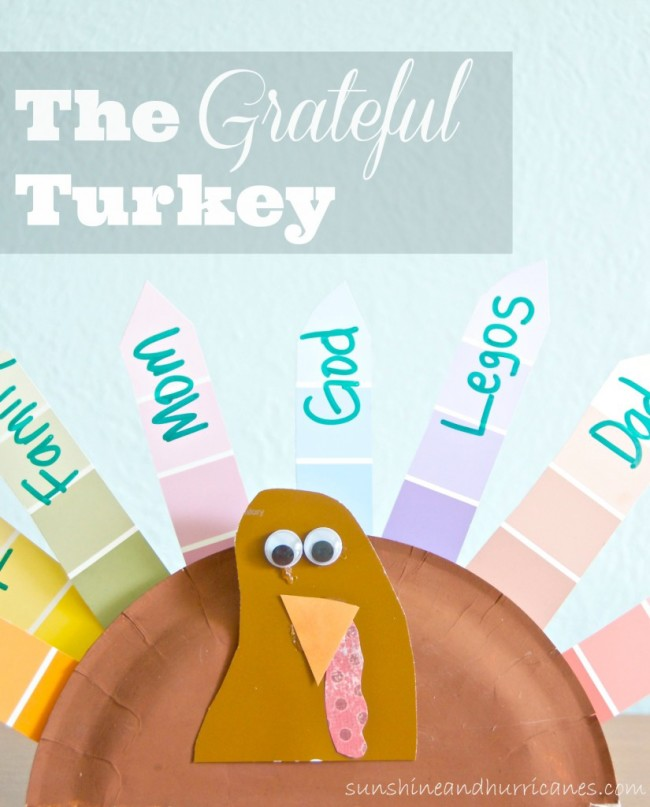 The Grateful Turkey Craft