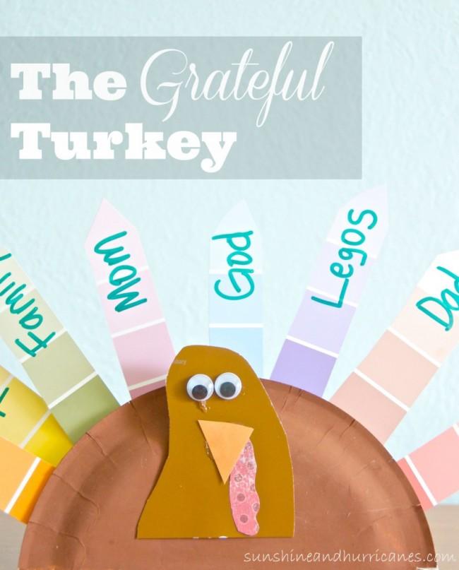 The Grateful Turkey Craft