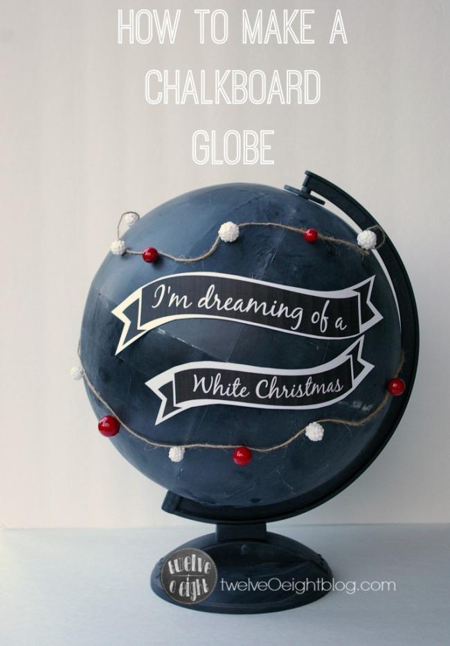 How-to-make-a-Chalkboard-Globe-twelveOeightblog.com-chalkboardglobe-potterybarnknockoff-diyglobe-diychalkboard-