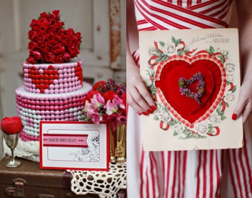 Mod Valentine's Day Party Inspiration