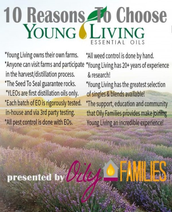 10 reasons to choose Young Living
