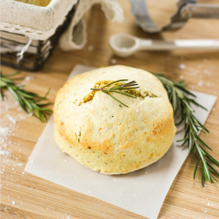 Rosemary and Parmesan Biscuits
