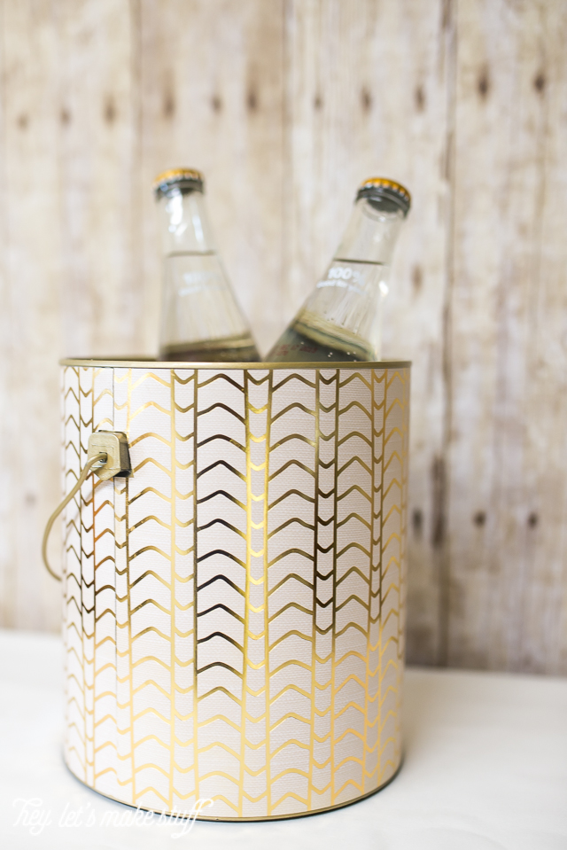 Paint Can Upcycle to an Ice Bucket