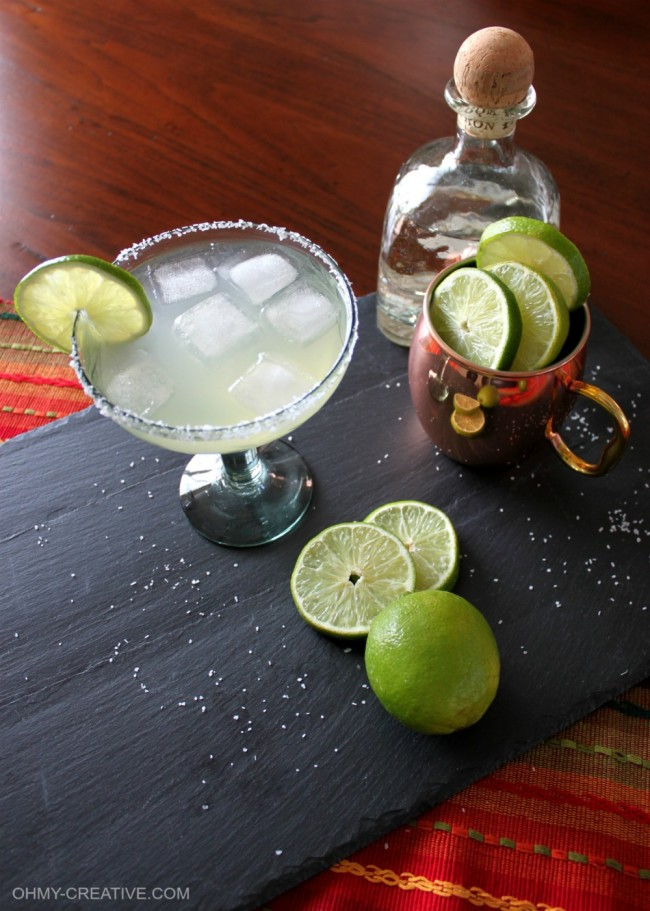 Moscow Margarita Mule With Ginger Beer