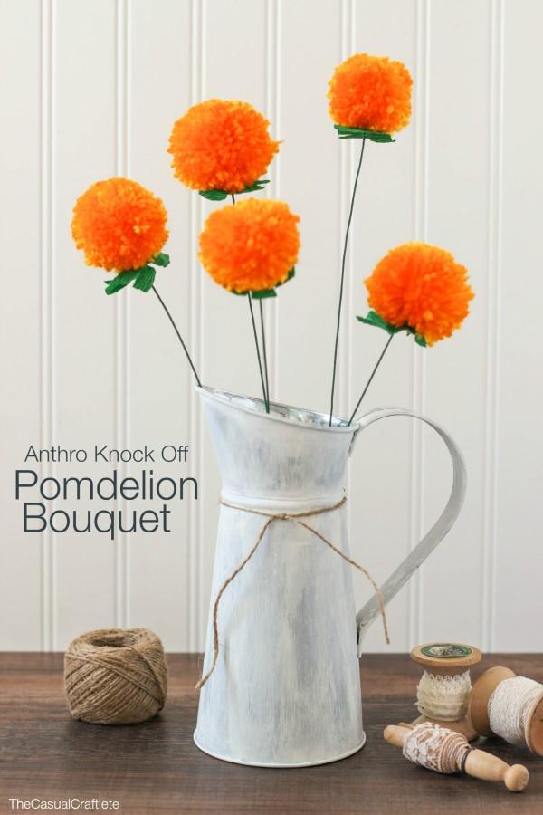 Anthro Knock-Off Pomdelion Bouquet