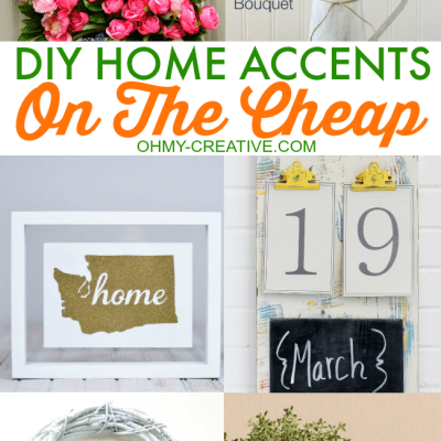 DIY Home Accents On The Cheap