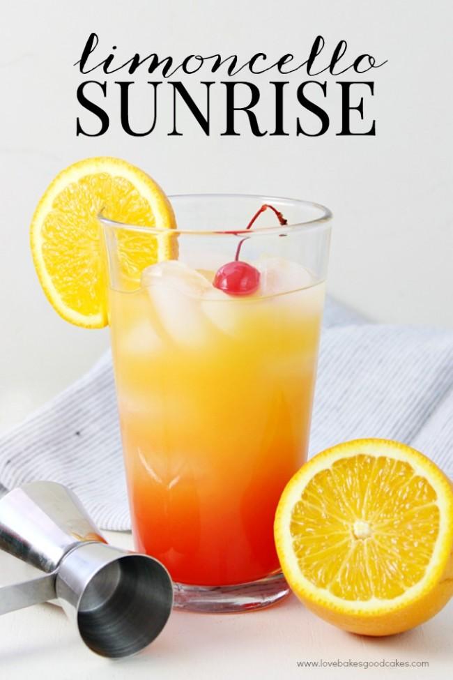Limoncello Sunrise