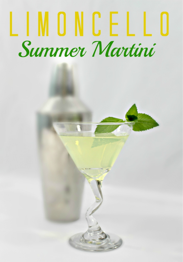 Limoncello Summer Martini