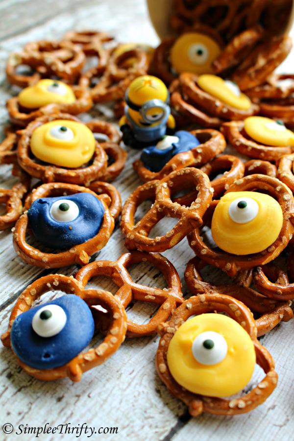 Minion Pretzels recipe