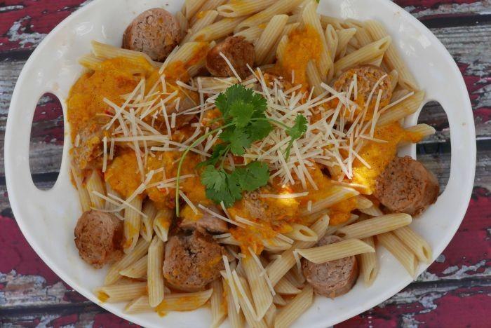 Pepper Pesto Pasta Recipe