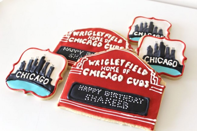 Chicago Themed Decorated Cookies|The Crafting Foodie