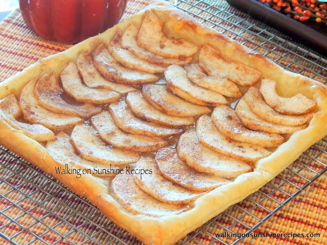Puff Pastry Apple Tart Recipe