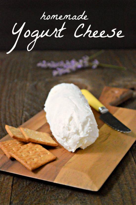 Homemade Yogurt Cheese