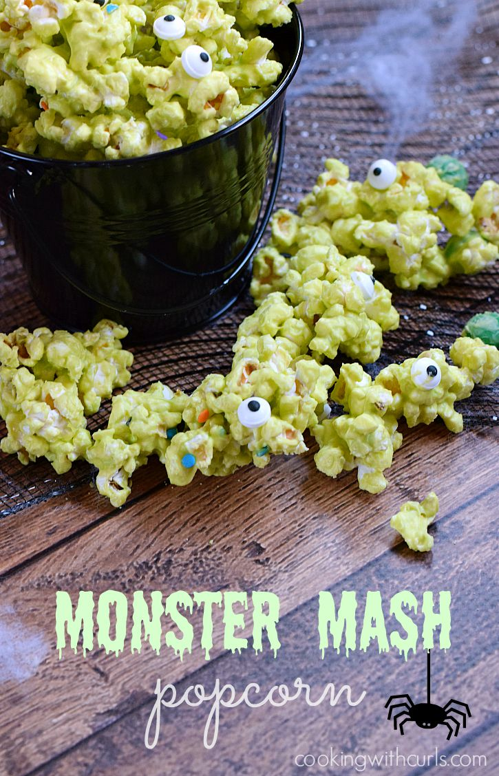 Halloween Monsters Creative Ideas | Not so scary Halloween crafts, projects and desserts! Get creative with a little Halloween Monster Madness! | OHMY-CREATIVE.COM | Monster Crafts | Monster Recipes | Monster Treats | Monster Kids Crafts | Monster Halloween Crafts |