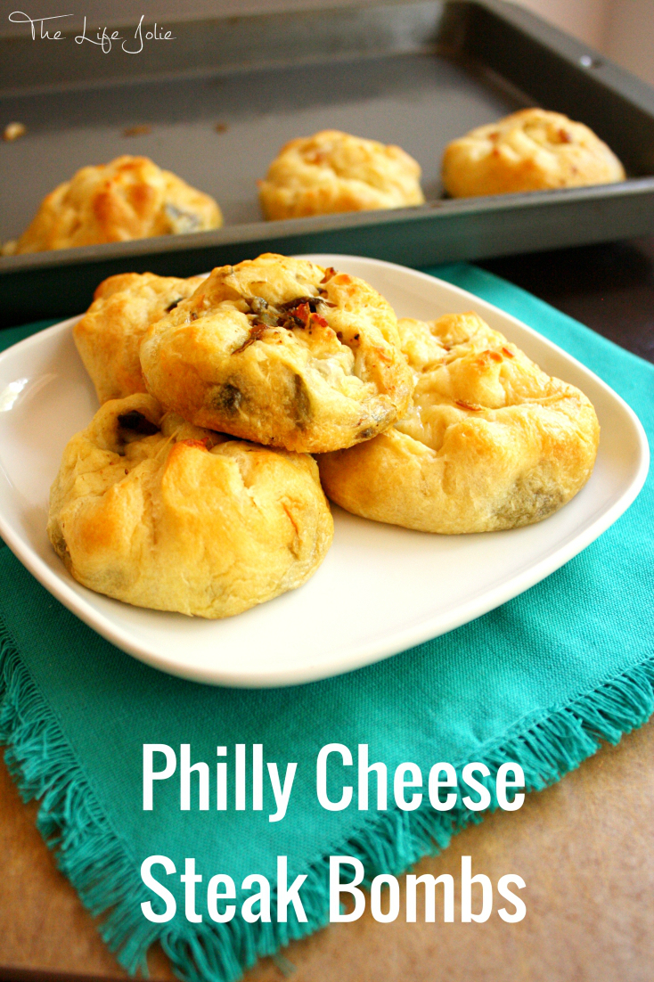 Philly Cheese Steak Bombs