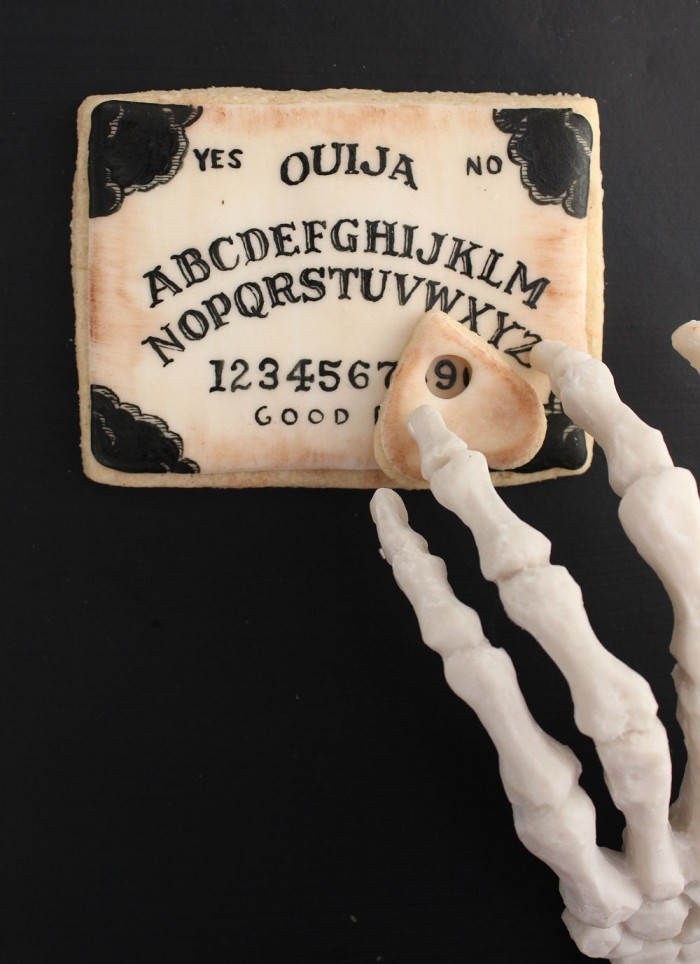 Ouija Board Sugar Cookies