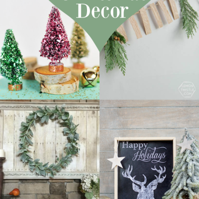 Charming Homemade Christmas Decor