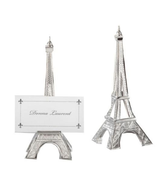 Kate Aspen Eiffel Tower Place Card Holders