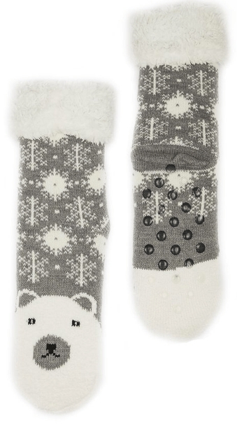 Teen Christmas Slipper Socks