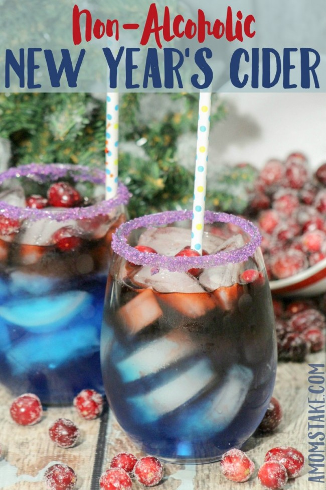Kids New Year's Eve Cider Drink