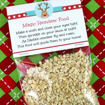 Magic Reindeer Food Recipe and Printable