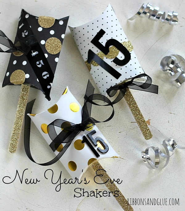 New Years Eve Noise Makers Crafts