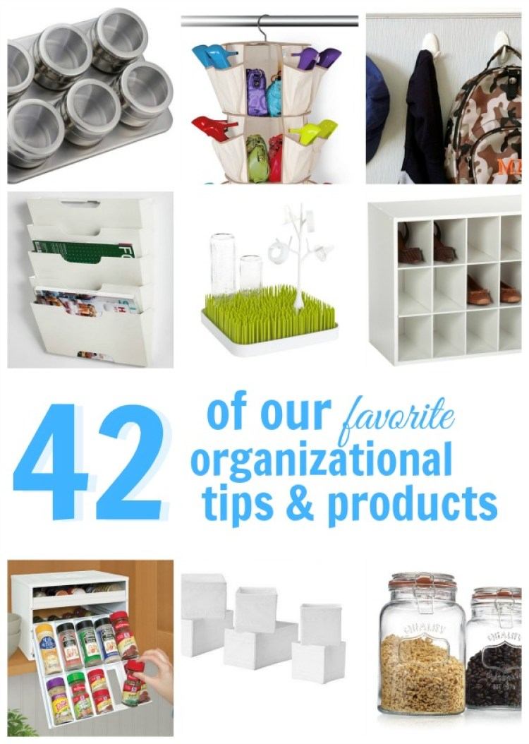 Over 45 of the Best Organizing Tips and Products recommended by bloggers! | OHMY-CREATIVE.COM