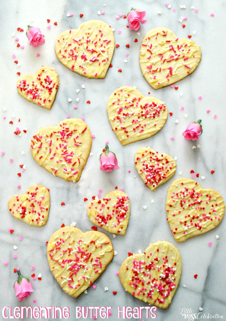 Clementine Butter Hearts