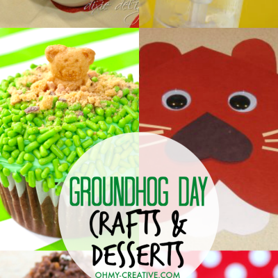 Groundhog Day Crafts and Desserts