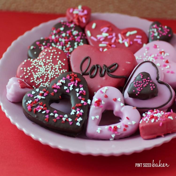 Valentine Butterfinger Cookies
