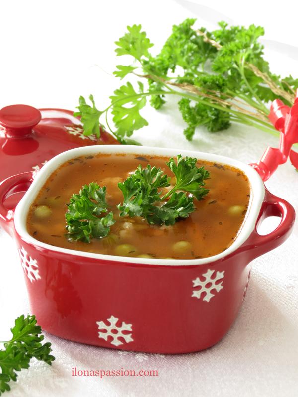 Brown Rice Beef Barley Soup Recipe