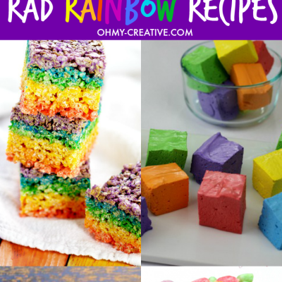 Colorful Rainbow Recipes To Make