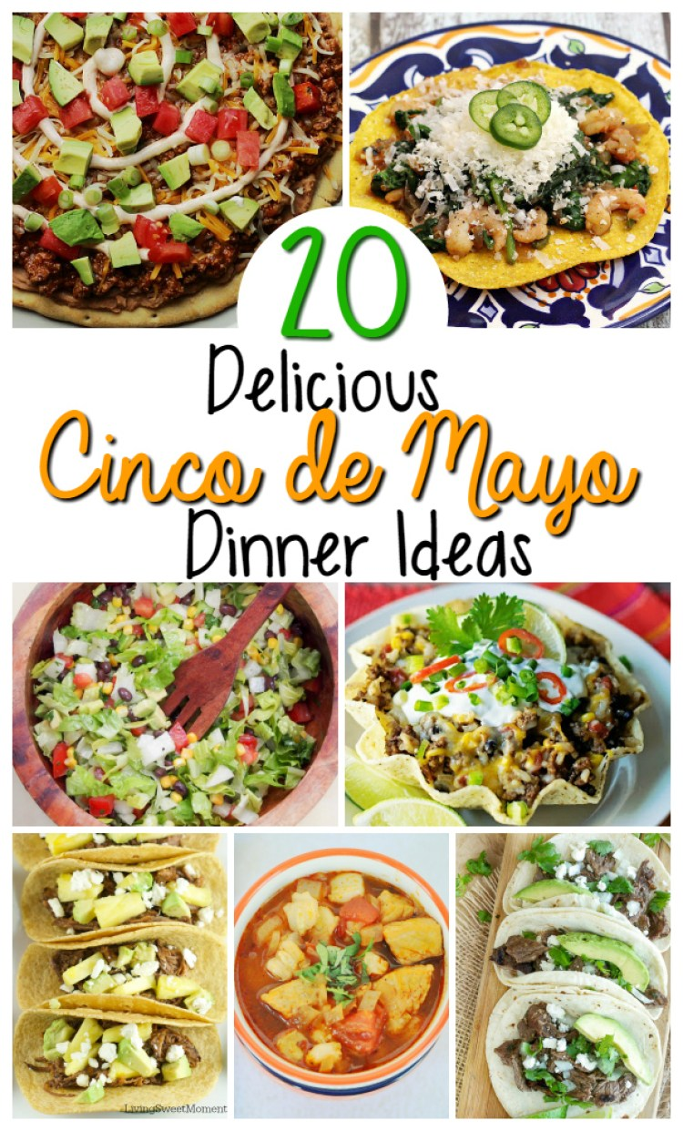 2O Mexican Food Recipes perfect for any Mexican Fiesta or Cinco de Mayo! Great Mexican dinner options throughout the year | OHMY-CREATIVE.COM 2