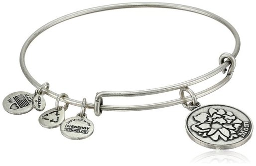 Alex and Ani Because I love You Expandable Wire Bangle Bracelet - Don't know what to get for mom this Mother's Day? Here are a few Pretty Gifts For Mom on Mother's Day she will love! | OHMY-CREATIVE.COM