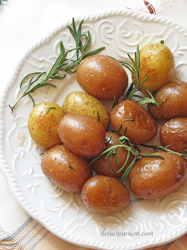 Buttery Rosemary Potatoes
