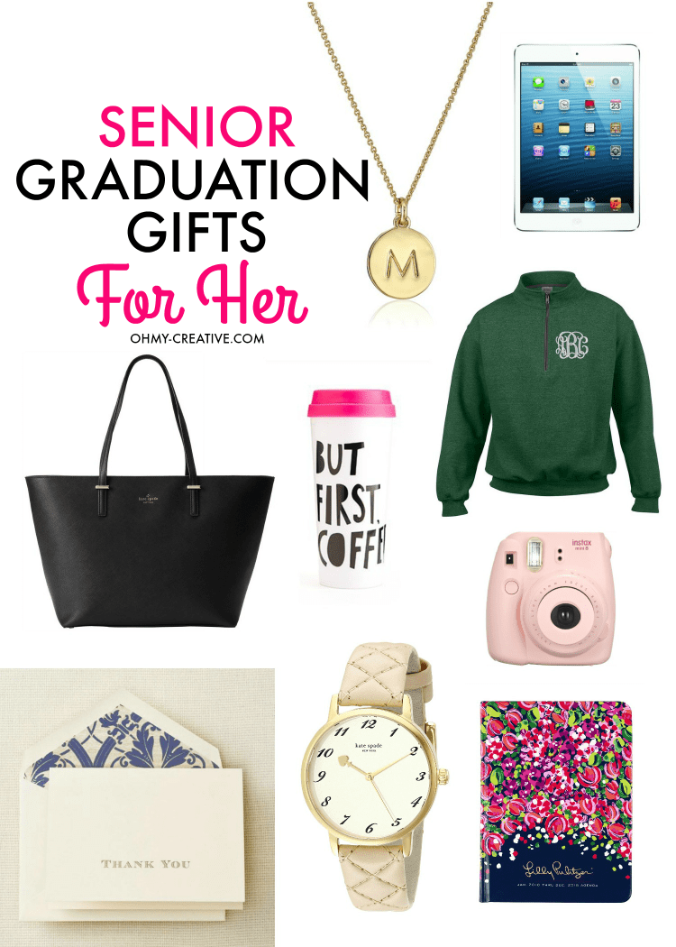 Senior Graduation Gifts for Her - Oh My Creative