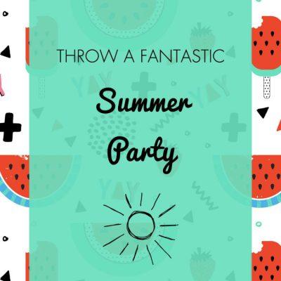 Summer Party Ideas, Invitation & Free Printables