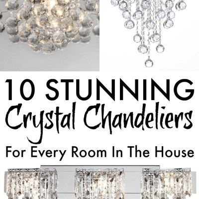 10 Stunning Crystal Chandelier Lights