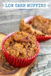 These Low Carb Muffins are delicious - a great no sugar muffin recipe using almond flour. A moist, flavorful gluten free muffin recipe for those following a gluten free diet. Popular Pins by OHMY-CREATIVE.COM