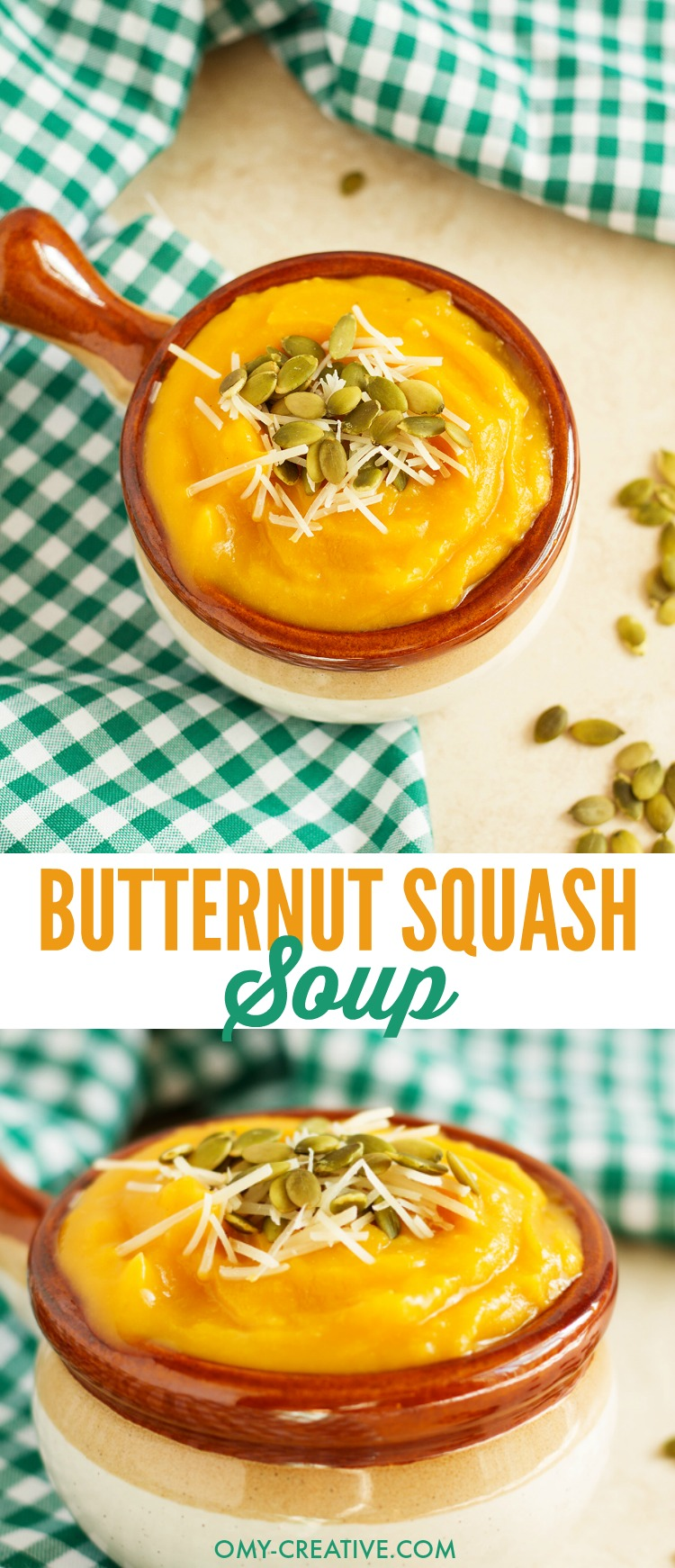 how to make creamy butternut pumpkin soup