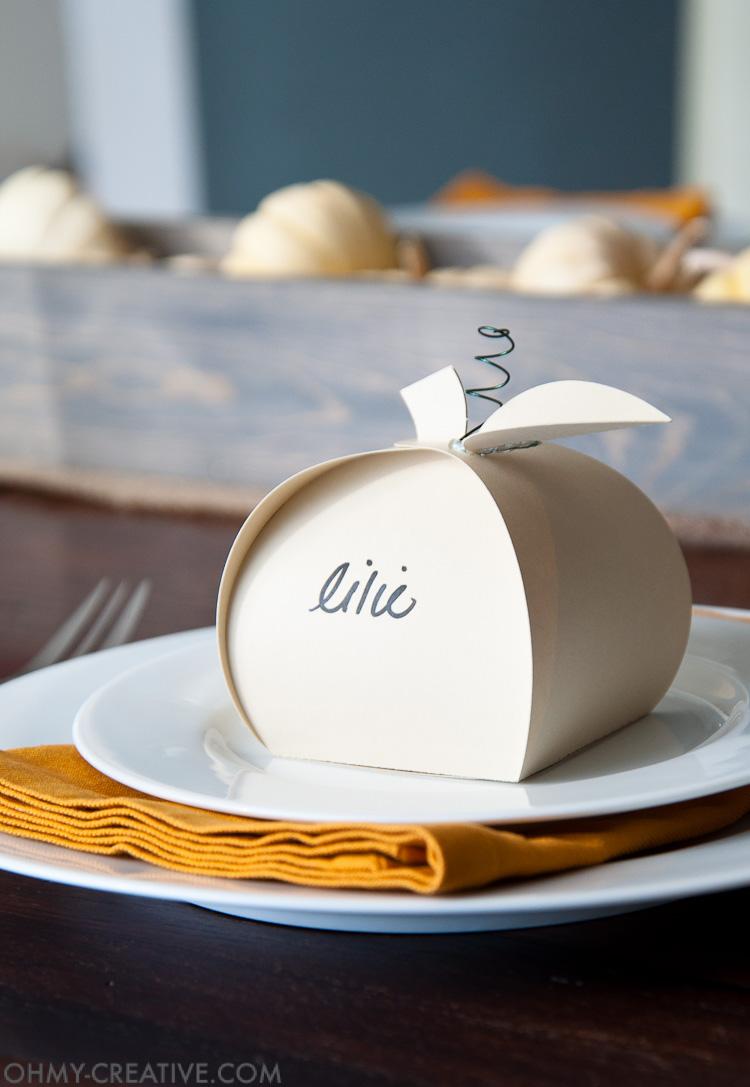 Pumpkin DIY Thanksgiving Decorations