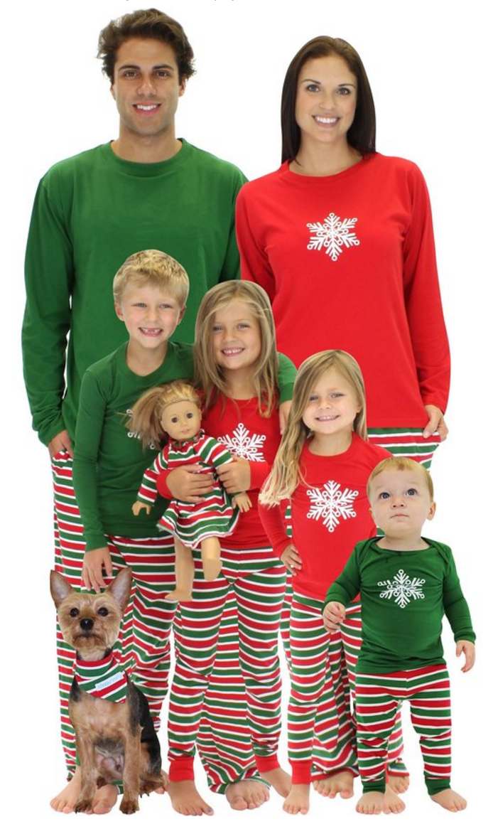 61e0198fc5 Create a memorable Christmas with these fun Family Christmas Pajamas. What  a great Christmas Eve